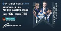 TechDivision als Aussteller auf der Internet World Messe 2019