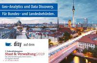 Geo-Analytics und Data-Discovery auf dem 7. Zukunftskongress Staat & Verwaltung