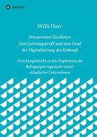 Procurement Excellence – zum Leistungsprofil und dem Grad der Digitalisierung des Einkaufs