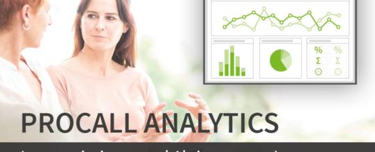Sonderaktion: ProCall Analytics zu attraktiven Konditionen
