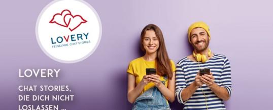 Discover Lovery – seit Mitte September ist eine neue App für Chat-Geschichten auf dem Markt