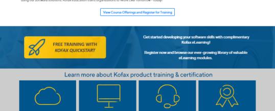 Neue Kofax Learning Cloud macht Kunden und Partner in Sachen Intelligent Automation fit