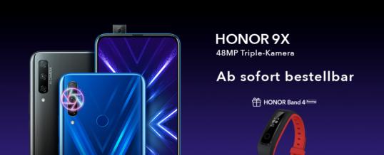 HONOR 9X Countdown: Xtreme smartes Bundle verkürzt Wartezeit zum Sales-Start
