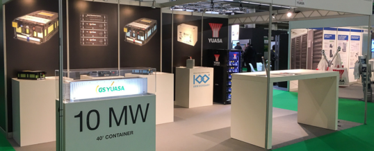 GS YUASA auf der Data Centre World 2019, Stand 420