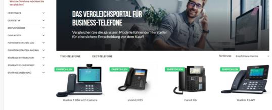 STARFACE launcht Vergleichsportal TOPPHONE24.com