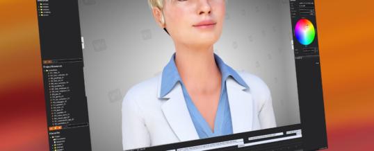 Interaktive 3D-Avatare einfach selbst erstellen