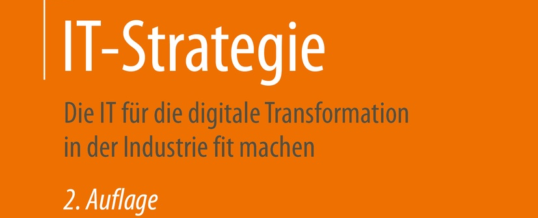 Zweite Auflage für Volker Johannings Buch IT-Strategie