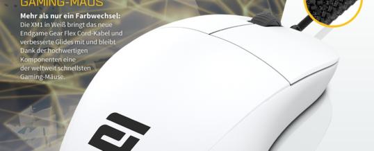 Die Endgame Gear XM1 Pro-Gaming-Maus wird noch besser – jetzt bei Caseking!