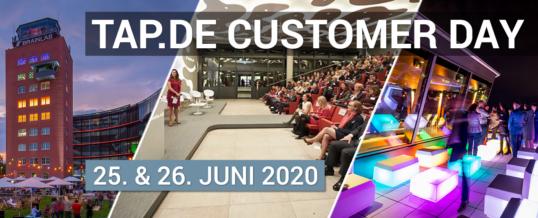 TAP.DE Solutions veranstaltet Customer Day im Münchner Brainlab Tower