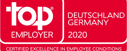 NTT DATA Deutschland 2020 erneut als Top Employer ausgezeichnet