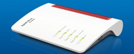 Neu für den schnellen Kabelanschluss: FRITZ!Box 6660 Cable mit Wi-Fi 6 und 2,5-Gigabit-LAN-Port