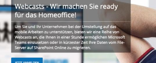 Net at Work macht Ihr Unternehmen Homeoffice-ready