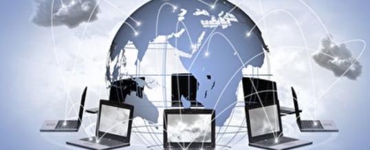 Digitale Kommunikation verbindet Menschen länderübergreifend