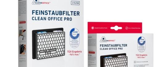 TÜV geprüfte Prävention bei Feinstaub / Leistungsstärker als alle bisher vertriebenen Druckerfilter