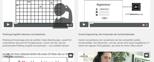 """Aktion """"Digital Arbeiten – aber sicher"""": Hiscox bietet Cyber-Sicherheits-Videolearning für das Arbeiten aus dem Home Office"""