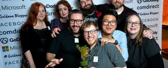 Goldene Blogger: Volksverpetzer ist Blog des Jahres – Tim Mälzer und Dorothee Bär ausgezeichnet