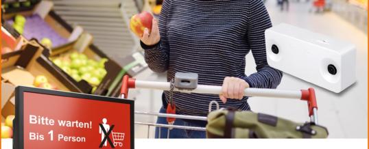 Kundenstrom im Einzelhandel in Corona-Zeiten regulieren