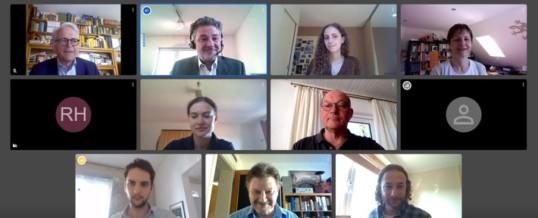 Schützt Gesundheit und Daten/DSGVO-konformer Videokonferenzdienst auf vis-a-vis.internet.de