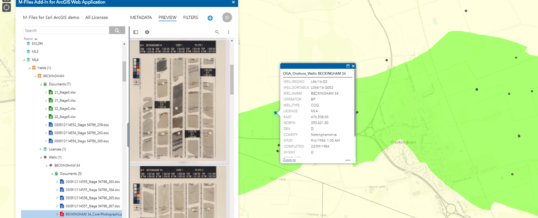 M-Files for Esri ArcGIS verbindet modernste GIS-Technik mit intelligentem Informationsmanagement
