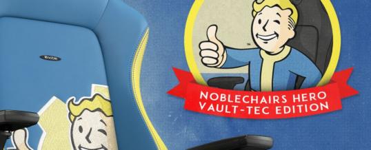NEUHEIT: noblechairs HERO Fallout Vault Tec Edition!