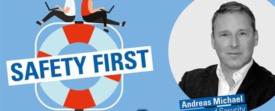 TÜV SÜD-Podcast Safety First: Safety oder Security? Warum für Industrie 4.0 beides wichtig ist