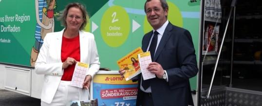 Füracker: Erste Mobile Lotto-Annahmestelle startet in der Oberpfalz / LOTTO Bayern bereichert mobile Nahversorgung
