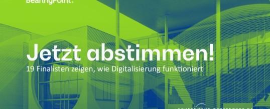 Digitale Verwaltung: Finalisten des 19. eGovernment-Wettbewerbs zeigen wie es geht / Bürger-Meinung per Online-Voting ist gefragt