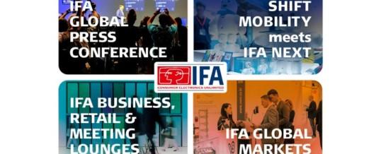 IFA will für 2020 in neuer Form stattfinden
