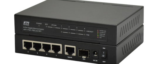 "Zwei Welten – ein Switch: High-PoE und ""Fiber to the Office"""