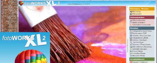 Bildbearbeitungsprogramm mit kreativen Funktionen