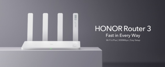 HONOR launcht Wi-Fi 6 Plus Router HONOR Router 3