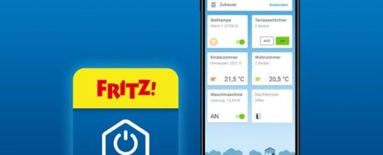 FRITZ!App Smart Home ab sofort verfügbar / AVM veröffentlicht neue App
