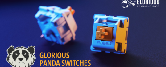 Glorious PC Gaming Panda Switches & G-LUBE bei Caseking!