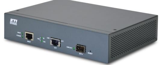 Der neue managebare 10 Gigabit Medienkonverter von KTI