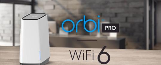 Konnektivität der nächsten Generation: NETGEAR präsentiert mit dem Orbi Pro WiFi 6 Tri-Band-Mesh-System ein ultraschnelles WLAN-Erlebnis