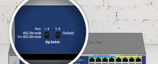 NETGEAR® präsentiert vier neue Unmanaged Switches mit PoE+ und PoE++ für Plug-and-Play-Installationen in hochverdichteten Netzwerkumgebungen