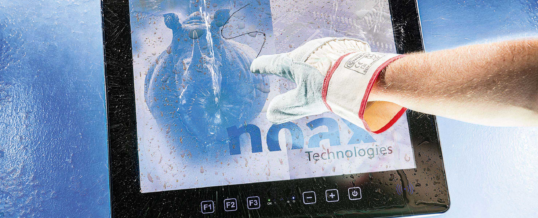 noax Steel PCAP Touch-Industrie-PC S19P