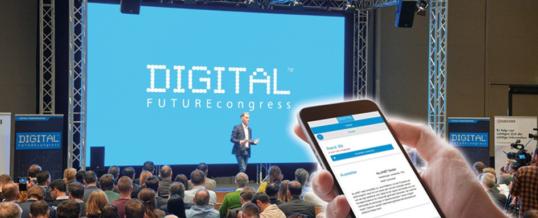 Die Kongressmesse ist zurück – DIGITAL FUTUREcongress live vor Ort in München
