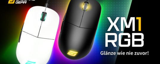 Neu bei Caseking: Endgame Gear XM1 RGB Gaming-Maus!