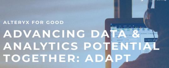 Alteryx ADAPT-Initiative für Data Worker mit mehr als 10.000 Teilnehmern