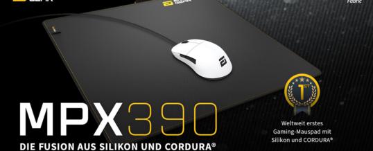 NEU: Endgame Gear MPX390 Mauspad mit CORDURA® & Silikon!