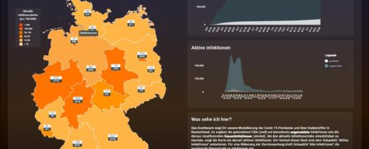 DunkelzifferRadar – Hackathon-Team beleuchtet Dunkelziffer von COVID-19 in Deutschland
