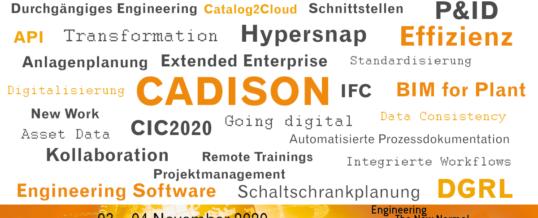 Digitale CADISON International Conference traf den Nerv der Zeit