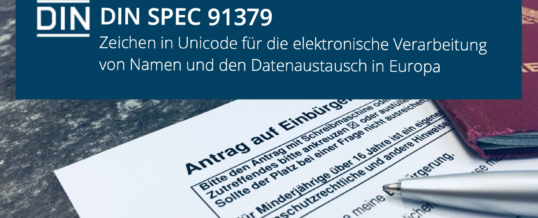 In 80 Tagen um die Welt: Unicode in der Verwaltung