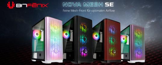 Jetzt bei Caseking: BitFenix Nova Mesh SE Midi-Gehäuse!