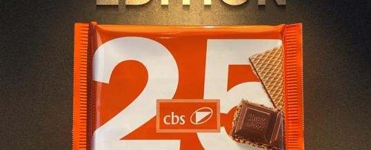 cbs bringt Ritter Sport-Jubiläumsschokolade heraus
