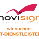 NoviSign sucht IT Dienstleister in Deutschland