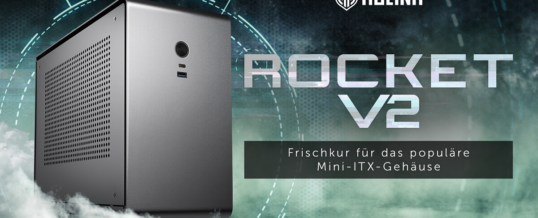 Kolink Rocket v2 Mini-ITX-Gehäuse jetzt bei Caseking!