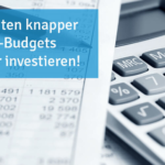 In Zeiten knapper IT-Budgets clever investieren