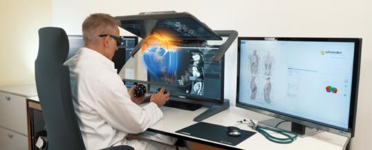 3D PluraView und Vesalius3D – ein perfektes Team für medizinische 3D-Visualisierungen